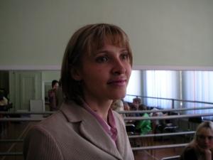 Olga Kolesnikova - the church's accountant!