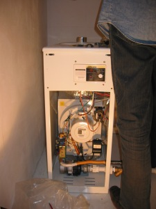 The gas furnace itself