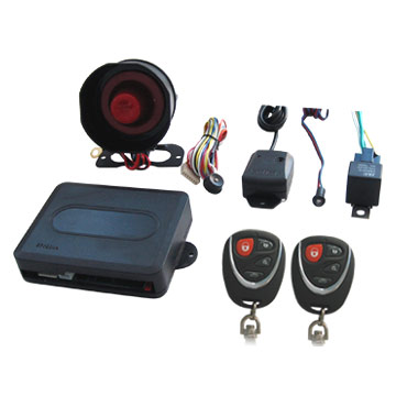one_way_car_alarm_system